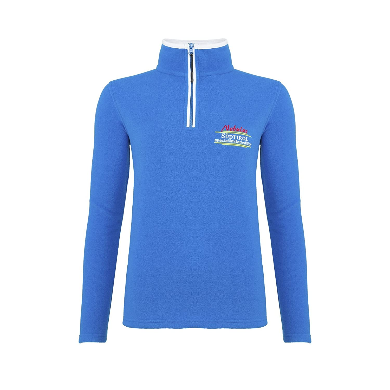 Nebulus Pullover Pile edelsüd - Cerniera Lampo, Pullover
