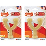Nylabone Dura Chew Regular Original Flavored Wishbone Dog Chew Toy (Pack of 2)