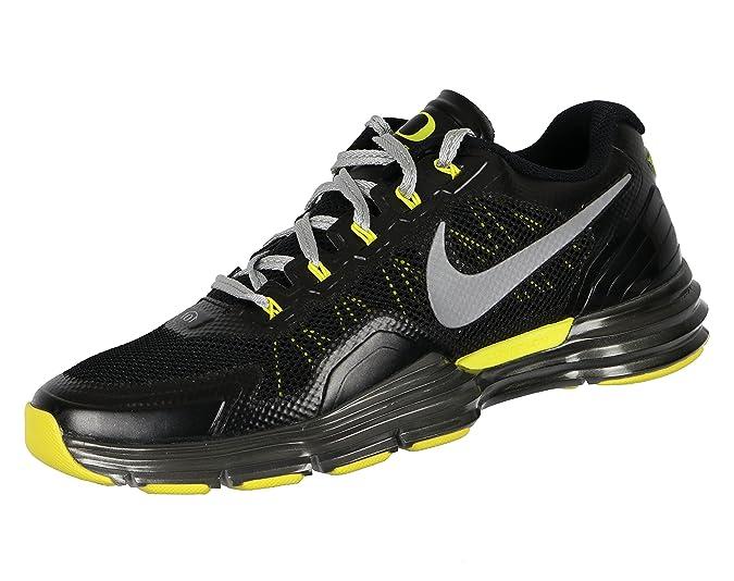 new product f44e5 ff3d4 Amazon.com   Nike Men s Lunar TR1 Oregon Cross Training Shoes 10.5 M US  Black Silver Green   Athletic