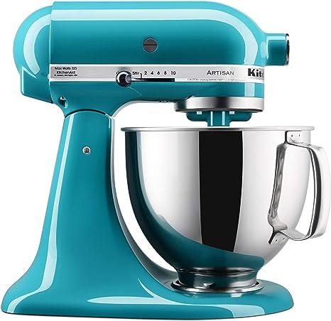 Amazon Com Kitchenaid Ksm150pson Stand Mixers 5 Quart Ocean Drive Kitchen Dining