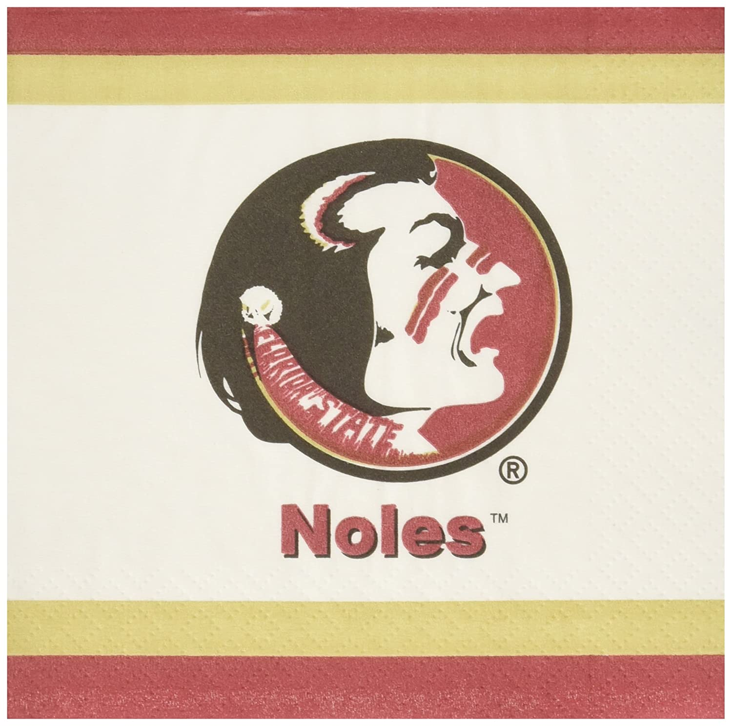 Mayflower Distributing Company 20Count Florida State Lunch Napkin Multicolor