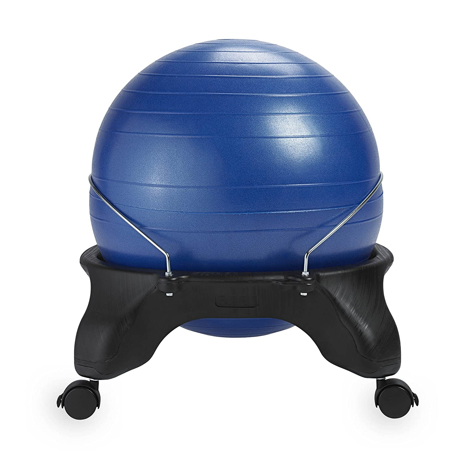 Amazon Gaiam Backless Balance Ball Chair 52cm Stability