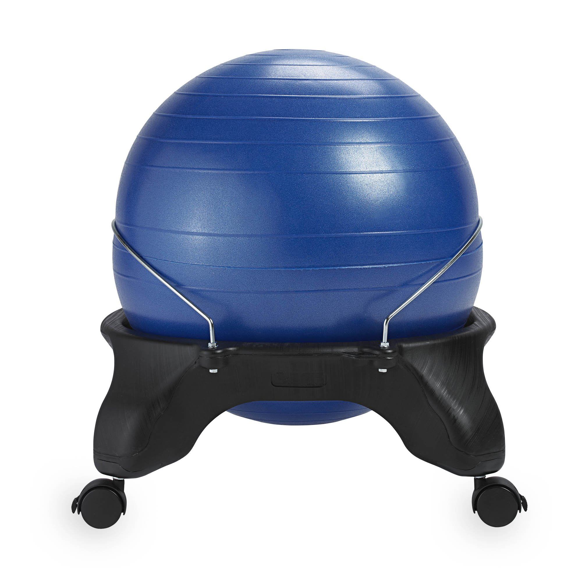 Gaiam classic backless balance ball chair exercise stability yoga ball premium ergonomic chair - Replacing office chair with exercise ball ...