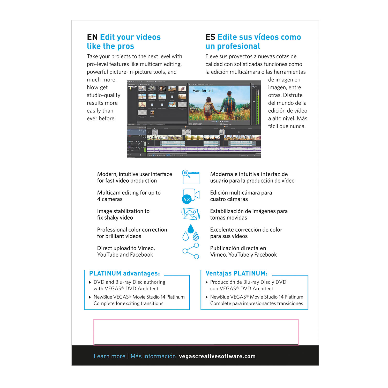 Amazon VEGAS Movie Studio 14 Suite – The plete suite for video editing Software