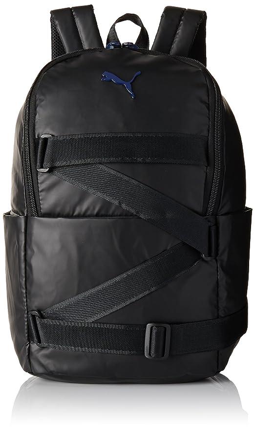 Puma 19 Ltrs Black Blue Depths Laptop Backpack (7482102)  Amazon.in ... 4e1bb5f6f47ac