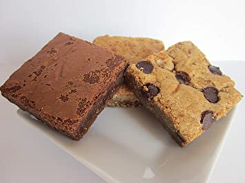 Tula Bakeshoppe Gourmet Caramel Lovers Brownies and Blondies Gift Box - Chocolate Salted Caramel Blondie,