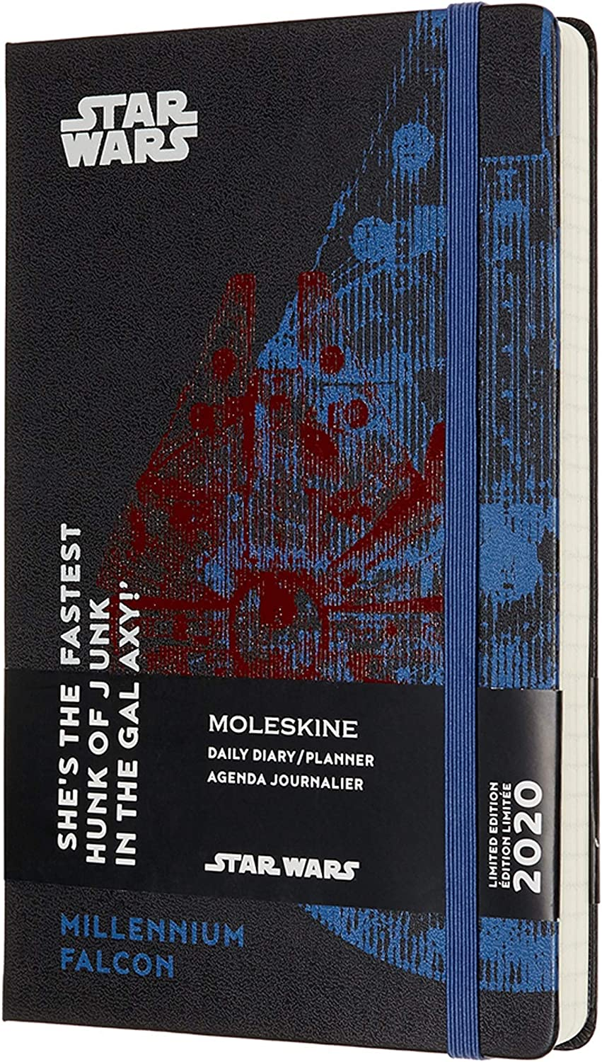 Moleskine Limited Edition Star Wars 12 Month 2020 Weekly Planner Hard Cover Large 5 x 8.25