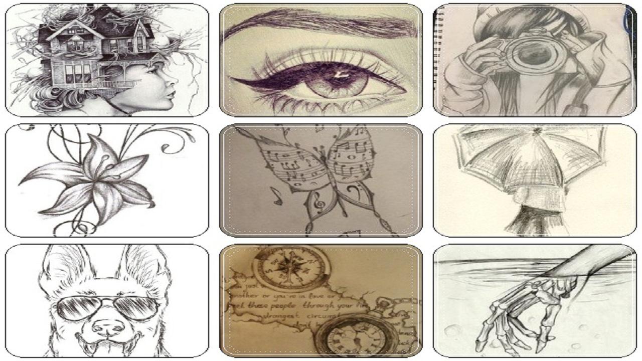 Amazon Com Easy Art Drawings In Pencil