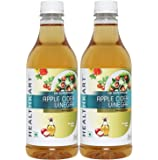 HealthKart Apple Cider Vinegar, 500ml, Pack of 2