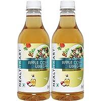 HealthKart Apple Cider Vinegar, 500ml, Pack of 2