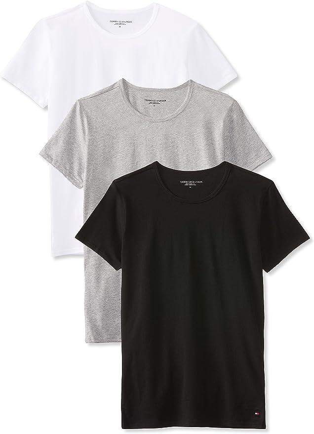 TALLA S. Tommy Hilfiger Camiseta (Pack de 3) para Hombre