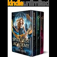 Spellcrest Academy - Year One (Spellcrest Academy Omnibus Book 1)