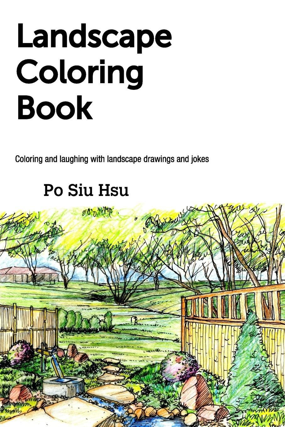 Landscape Coloring Book ebook
