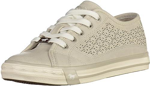 Mustang - Zapatillas deportivas Mujer , beige (beige), 36 EU: Amazon.es: Zapatos y complementos