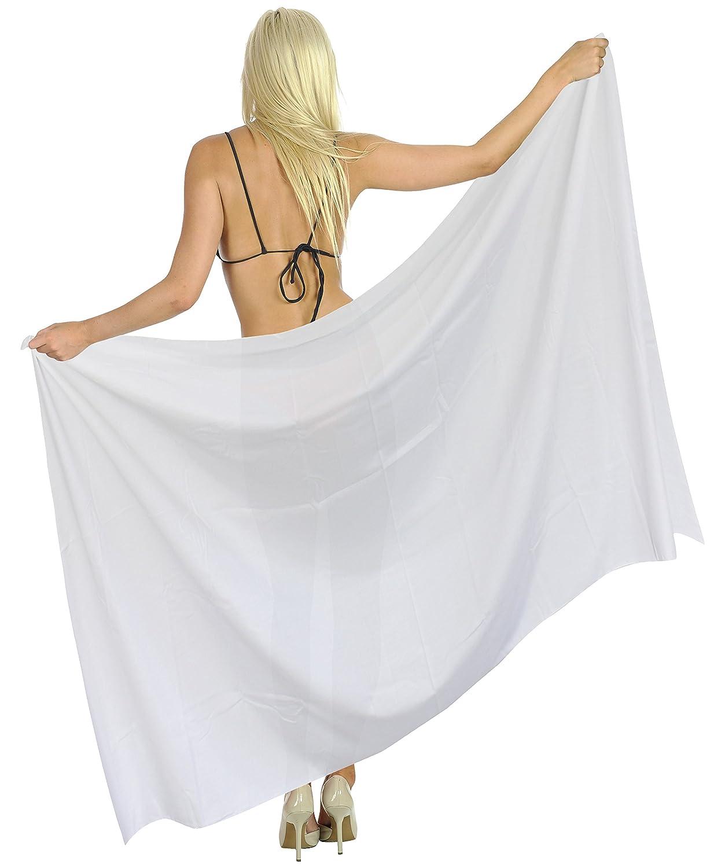 100% Base de Maillots de Bain Plage Maillot de Bain Bikini Femmes Coton Couvrir Sarong Nous 2X *LA LEELA