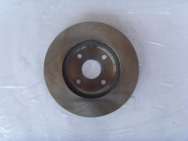 2014 For Toyota Corolla Front Anti Rust Coated Disc Brake Rotors and Ceramic Brake Pads