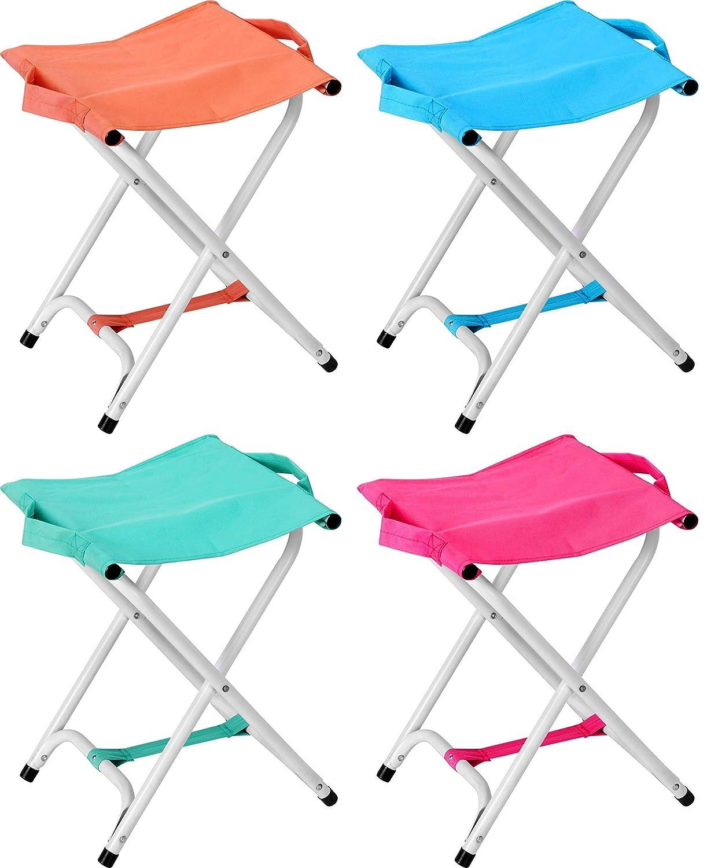 Taburete plegable camping taburete Silla plegable - 40 cm ...