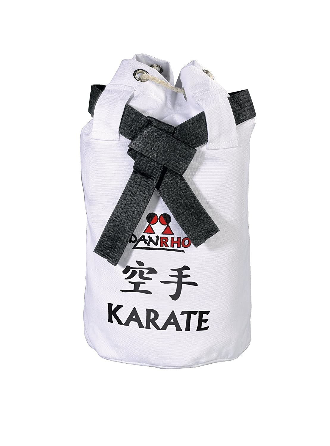 DanRho 226018020 Dojo Line Children's Karate Canvas Bag - White