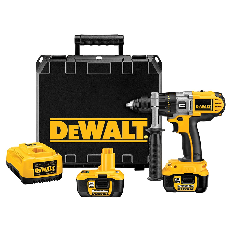 DEWALT DCD960Kl 1/2-Inch 18-Volt Cordless XRP Lithium-Ion Drill/Driver Kit by DEWALT B003J5URII