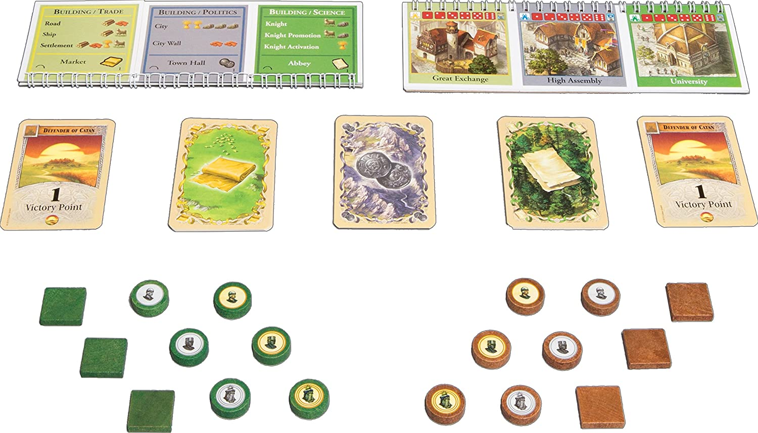 Catan: Cities and Knights 5-6 player Extension: Amazon.es: Juguetes y juegos