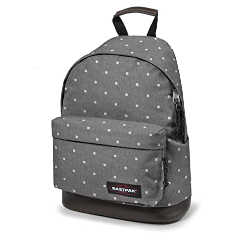 060d86ed21a19 Eastpak Backpack Wyoming White squares  Amazon.co.uk  Sports   Outdoors