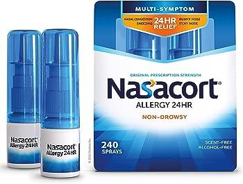 2-Pack Nasacort Allergy 24 Hour Nasal Spray