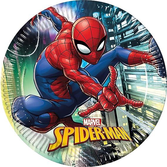Procos 10118255 Party Set Spiderman Team Up
