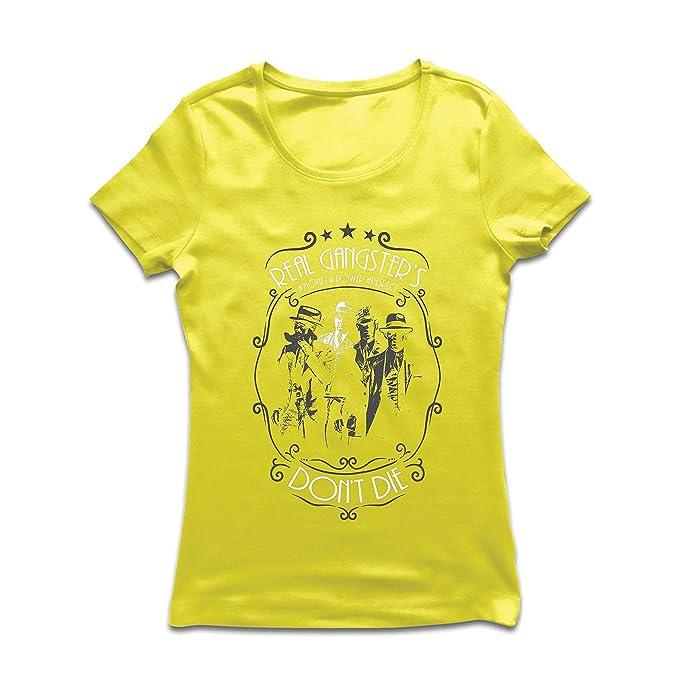 2c2f01297a35e lepni.me Camiseta Mujer Los pandilleros Reales Nunca Mueren - Italiano - Citas  de la Mafia siciliana - El Padrino - Cosa Nostra  Amazon.es  Ropa y ...