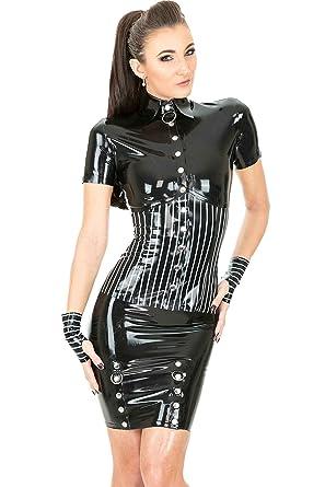 Pro Stripe Garniture Pin domme avec Noir Chemise Noire UZZCrn