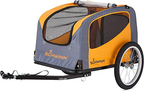 Schwinn-Small-Rascal-Bike-Pet-Trailer-For-Large-Dogs-Bicycle-trailer