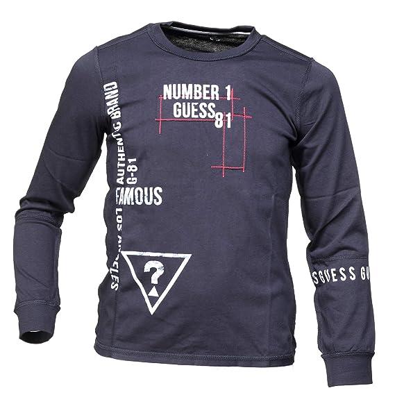 Guess - SS t Shirt Black Tee jr - Tee Shirt Manches Longues  Amazon.fr   Vêtements et accessoires cbee0089413
