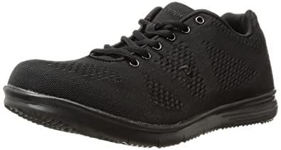 f49a272f7ff06 Propet Men s TravelFit Walking Shoe All Black 9 ...
