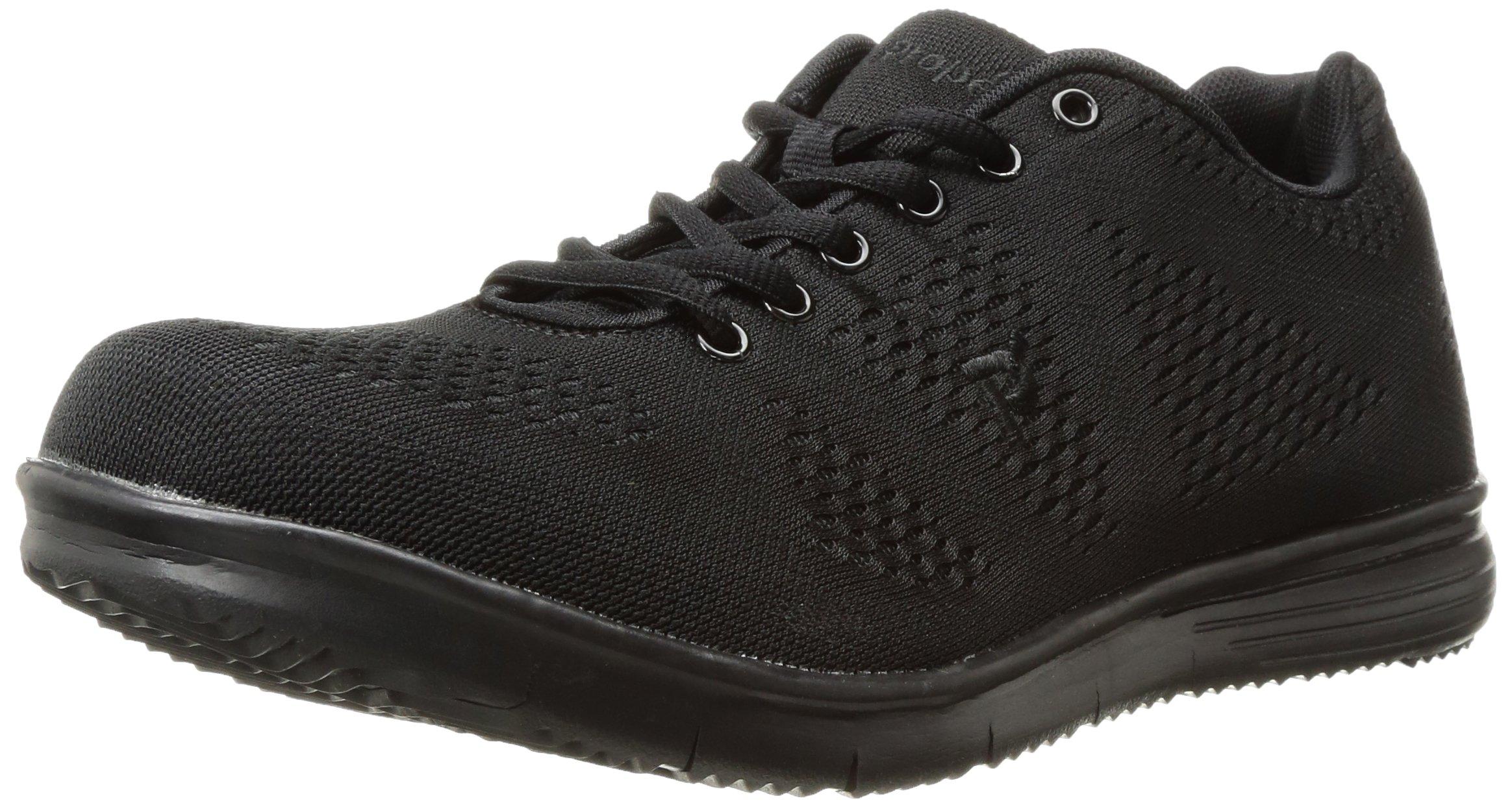 Propet Men's TravelFit Walking Shoe, All Black, 11.5 5E US
