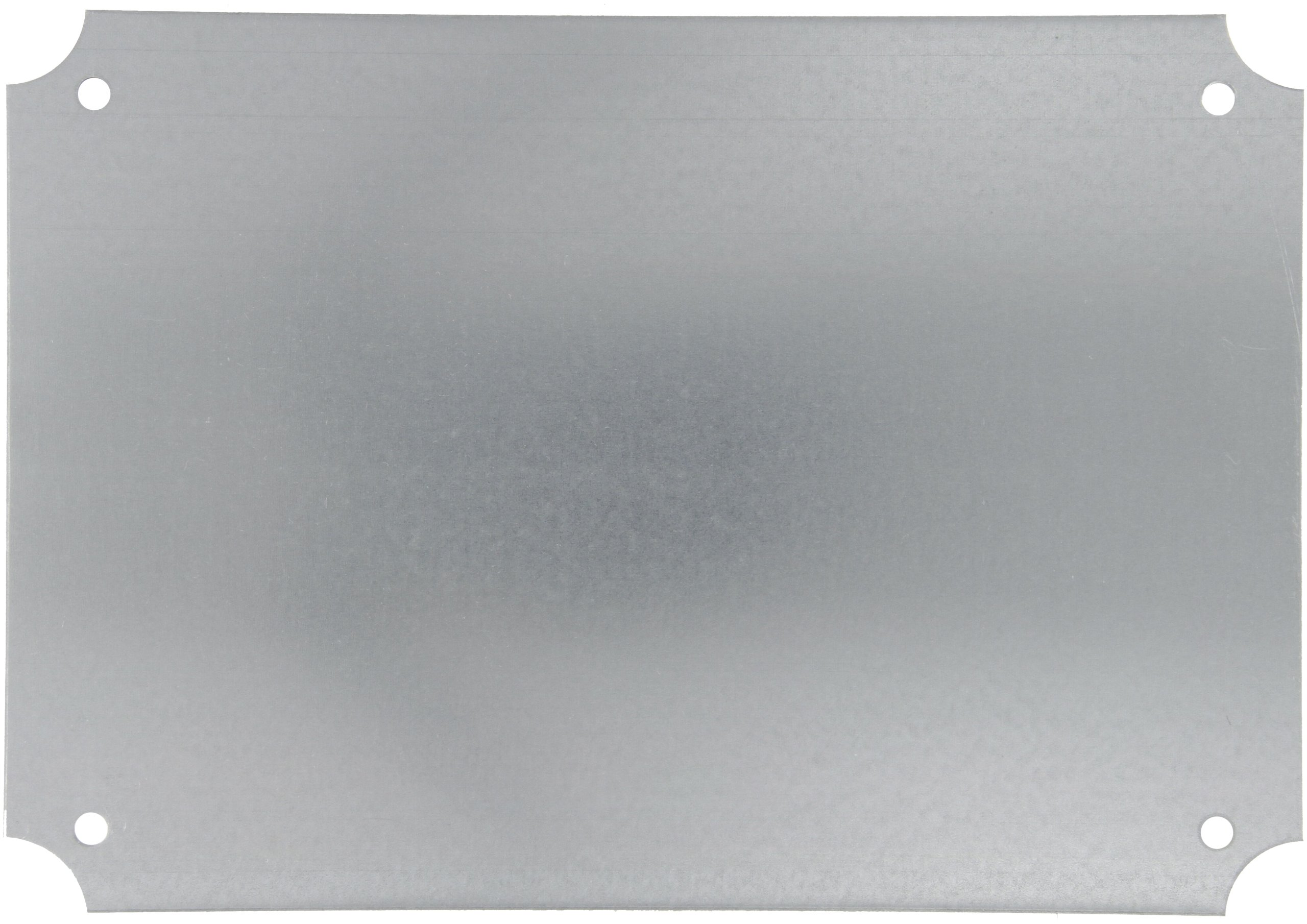 BUD Industries NBX-10988 Steel Internal Panel, 12-63/64'' Length x 19-3/64'' Width x 1/16'' Thick, for NEMA Box