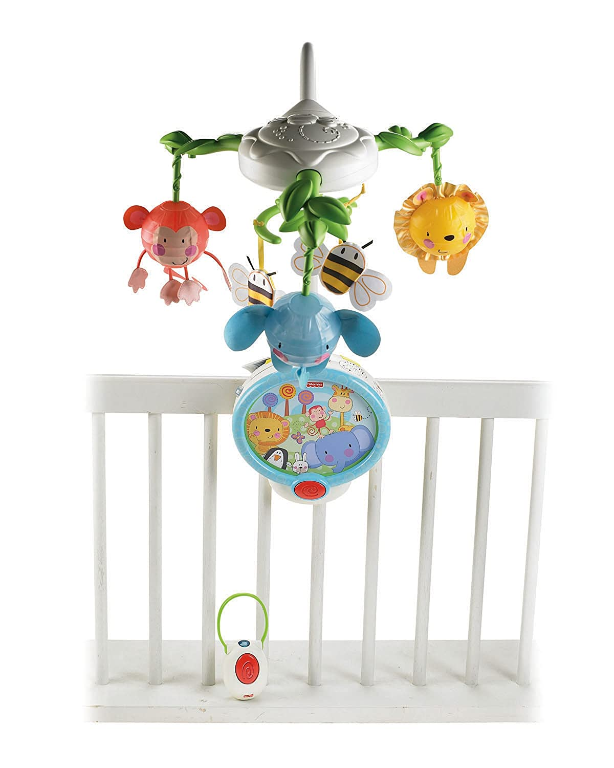 Fisher-Price Discover 'n Grow Twinkling Lights Projector Mobile W2622 11DE3A1B