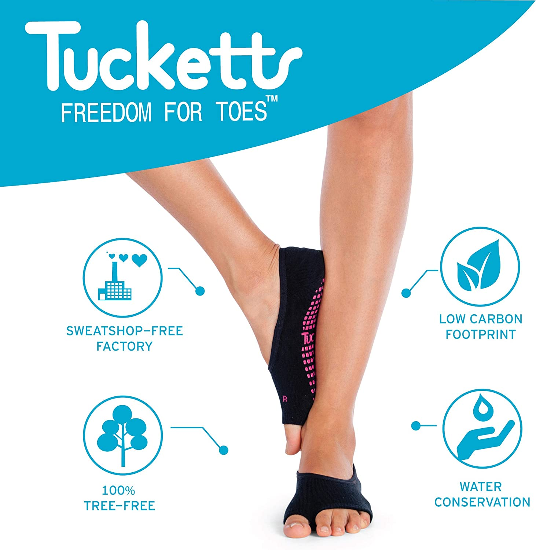 MNSYD Leaky Toe Yoga Socks Toeless Non Slip Skid Open Toe Gripper Sock Pilates Ballet Socks Professional Dans Socks For Women Girls,Deep Purple