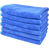 "Sinland 12""x12"" All-purpose Microfiber Cleaning Cloths Wiping Dusting Rags c"