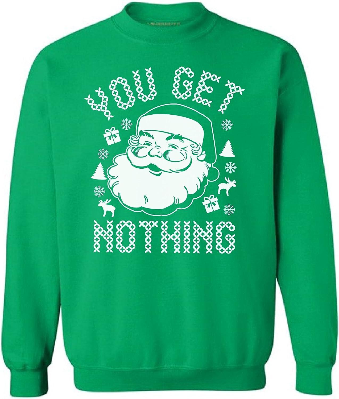 Awkward Styles Christmas Santa Sweatshirt Santa Christmas Sweater Ugly