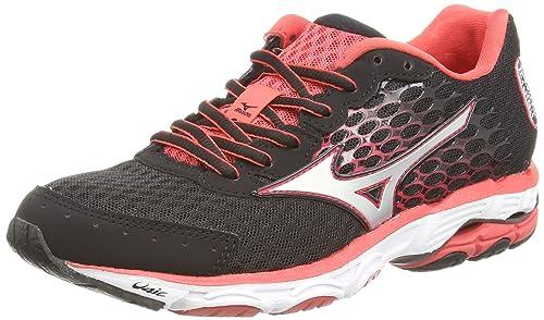 Mizuno Wave Inspire 11 (W), Women's Running Shoes, Black (Black/