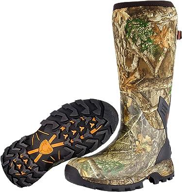 Rain Boots Mossy Oak Size 10 Camouflage Mud Boots Fishing Boots Kids Hunting