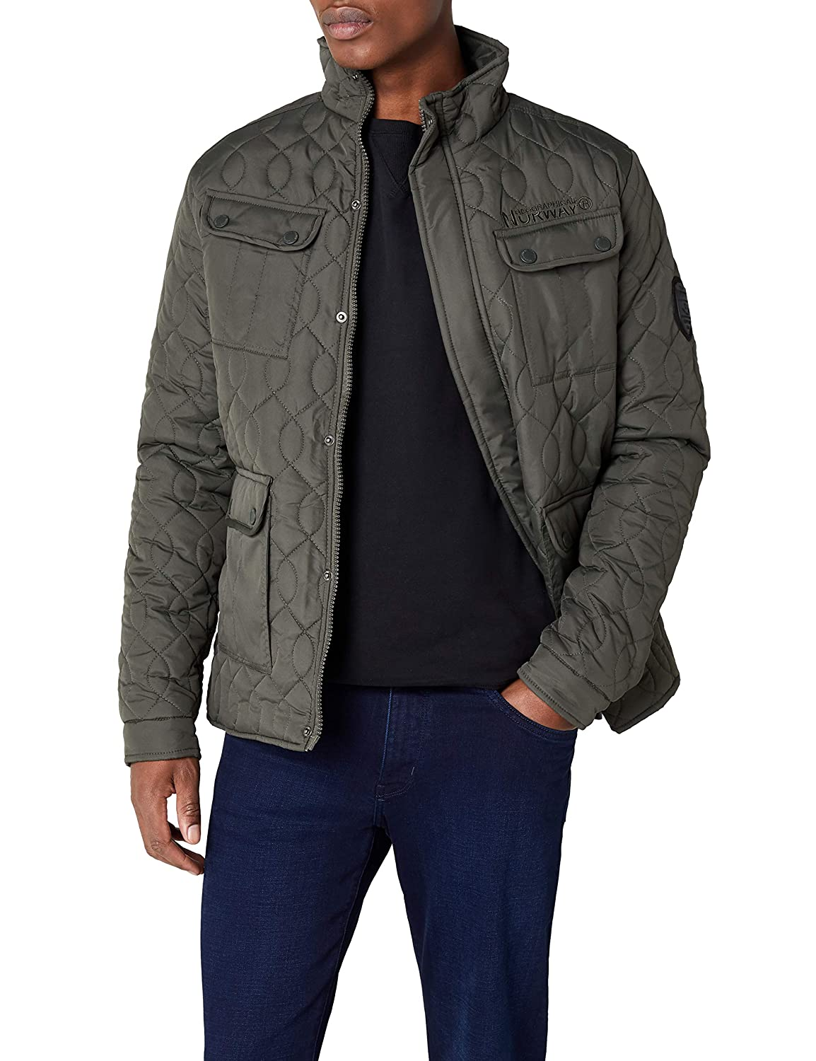 TALLA L. Geographical Norway Chaqueta para Hombre