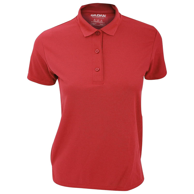 Gildan Womens/Ladies Performance Sport Double Pique Polo Shirt