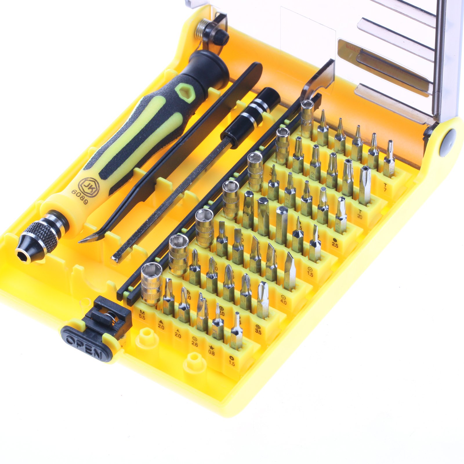 45 in1 Torx Precision Screwdriver Repair Tool RC PC Mobile Flexible Kit Set for Cell Phone Rc Pc Mobile Phone Car and other devices