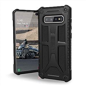 URBAN ARMOR GEAR UAG Designed for Samsung Galaxy S10 Plus [6.4-inch Screen] Monarch [Black] Military Drop Tested Phone Case