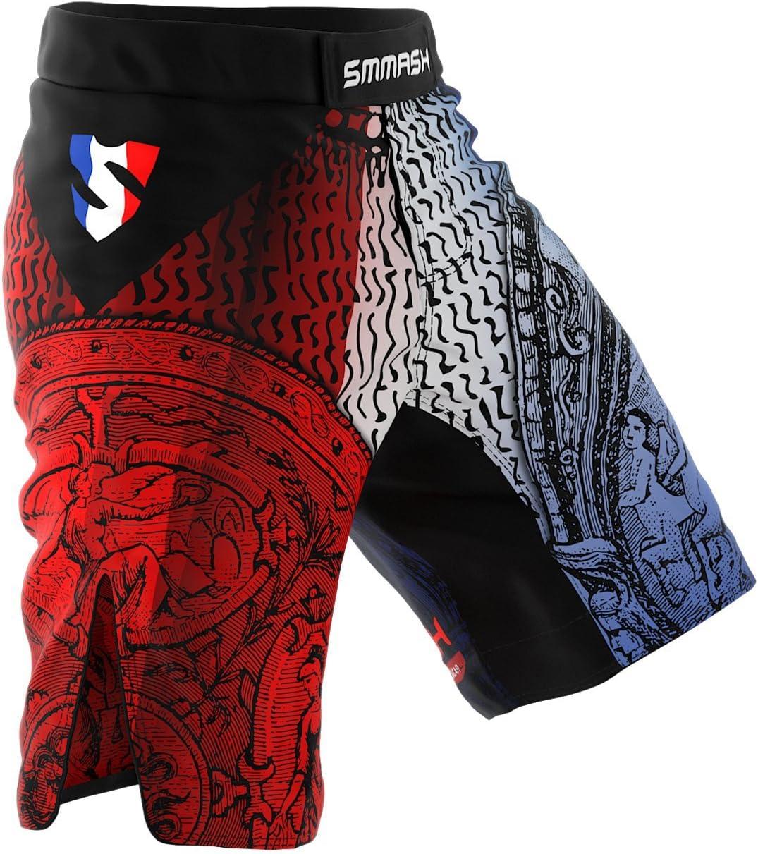 Hergestellt in der EU Krav MAGA Sportoberteile f/ür MMA SMMASH Shadow 2.0 Rashguard Kurzarm Herren K1 BJJ Kampfsport Funktionsshirt Herren Atmungsaktiv und Leicht Slim Fit