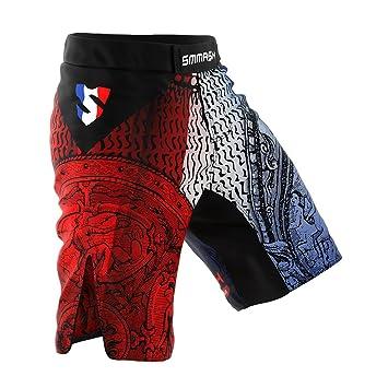 SMMASH Rashguard FRANCE Manche Courte MMA BJJ UFC K1