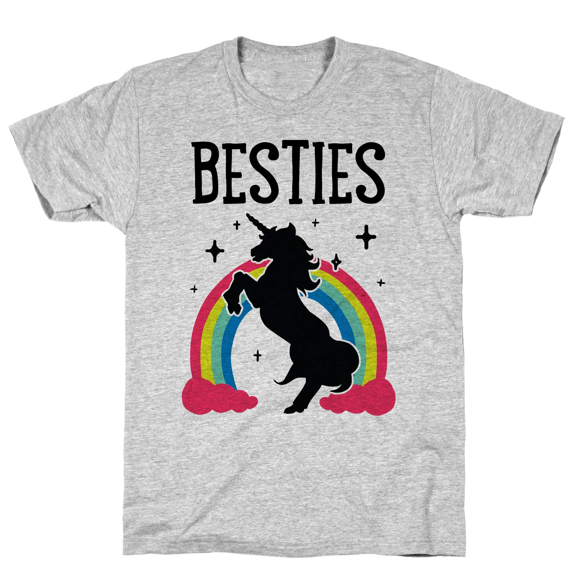 Magical Besties 2 Cmyk Athletic Gray S Ts Shirts