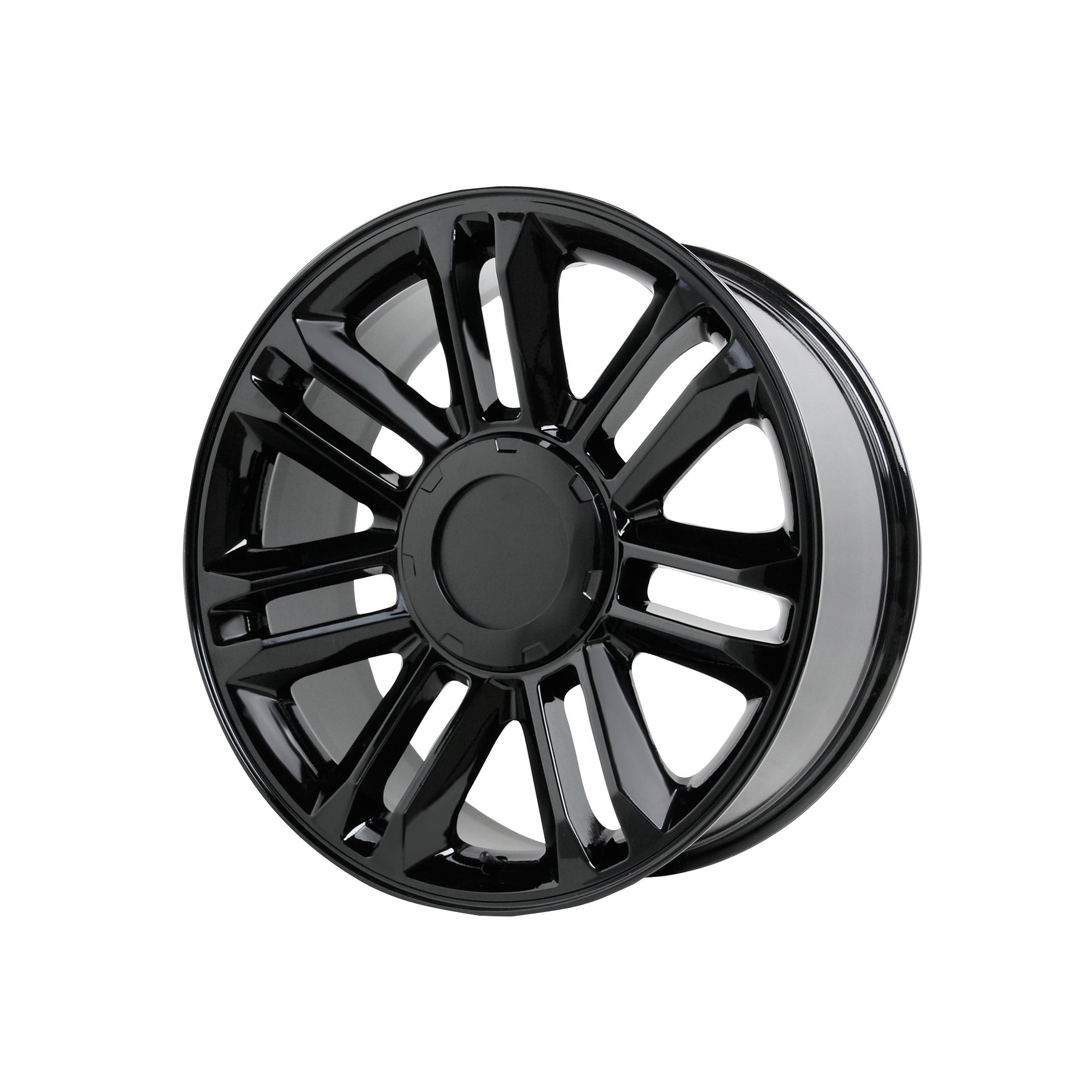 Wheel Replicas V1165 Gloss Black Wheel (22x9''/6x5.5'') by Wheel Replicas (Image #1)