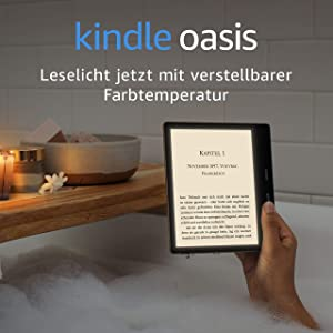 All-new Kindle Oasis   Now with adjustable warm light   Waterproof, 8 GB, Wi-Fi   Graphite: Amazon.de: Amazon Devices