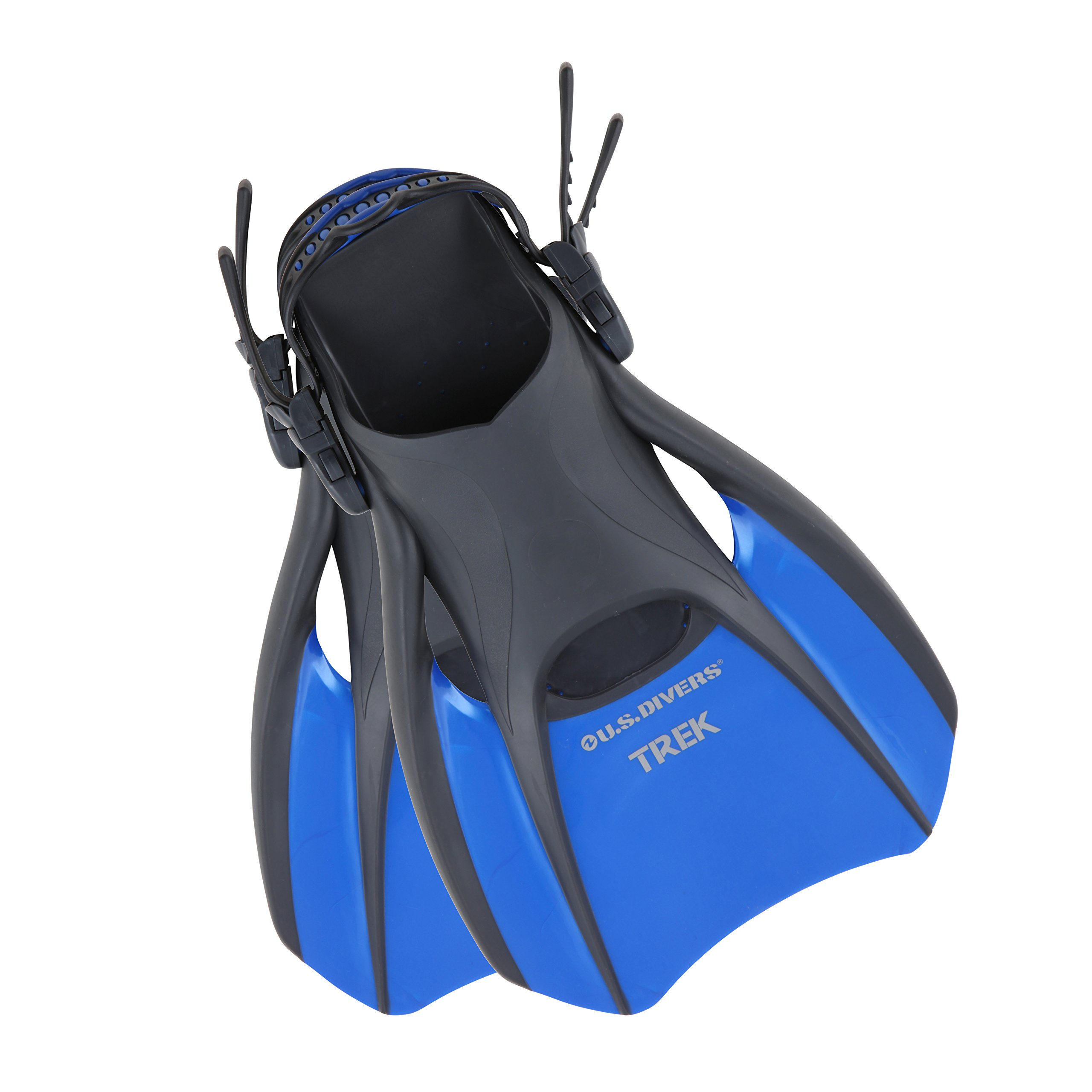 Aqualung US Divers Trek Travel Fin (Medium, Men-7-10/Women-9-12) by Aqualung